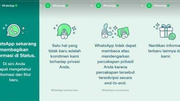 Netizen Ramai Soal Status WhatsApp Muncul Pagi Tadi