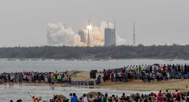 Modul Stasiun Luar Angkasa China Meluncur ke Orbit
