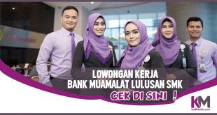 Lowongan Kerja Bank Mualamat untuk Lulusan SMK