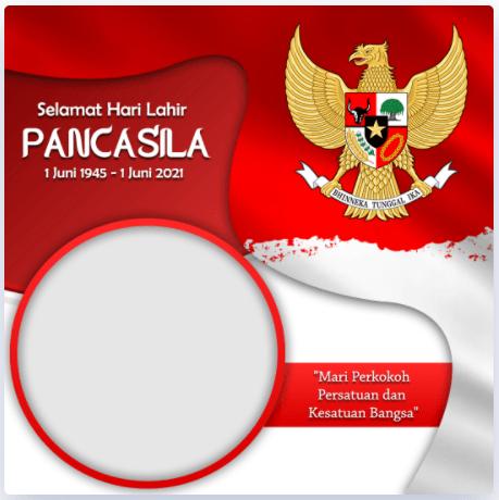 Template Ucapan Selamat Hari Pancasila 2021 (by Hayfik Graphicdesign)