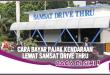 Cara Bayar Pajak Kendaraan di Samsat Drive Thru