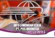 25 Lowongan Kerja di Pos Indonesia, Buruan Cek di Sini!