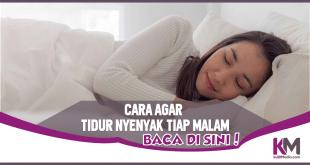 5 Cara Mendapatkan Tidur Nyenyak Setiap Malam