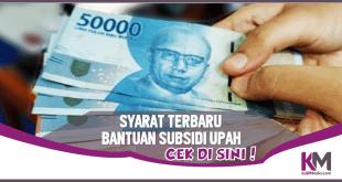 Ada Bantuan Subsidi Upah 1 Juta Rupiah, Ini Syaratnya
