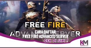 Cara Daftar FF Advance Server Terbaru, Ini Linknya