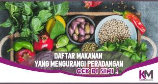 Daftar Makanan yang Ampuh Mengurangi Peradangan