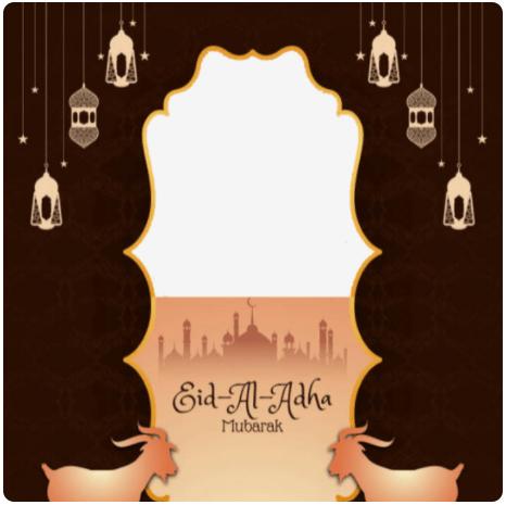 Template Twibbon IDUL ADHA (by Restu Elqaffa)