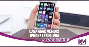 Cara Agar Memori iPhone Makin Lega, Lakukan Ini!