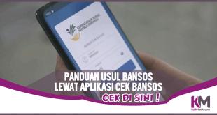Panduan Usul Pengajuan Bansos di Aplikasi Cek Bansos