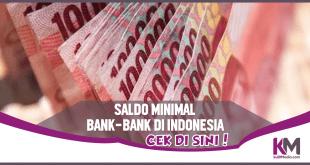 Saldo Minimal BRI, BTN, BTN, BCA dan Bank Lainnya