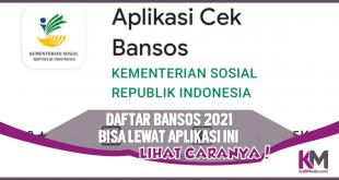 Terbaru! Daftar Bansos 2021 Bisa Lewat Aplikasi Ini