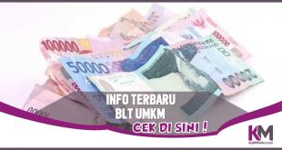 Info BLT UMKM 1,2 Juta, Cek Penerimanya Di Sini