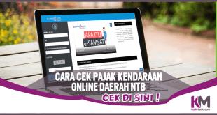 Cara Cek Pajak Kendaraan Online Daerah NTB via Web