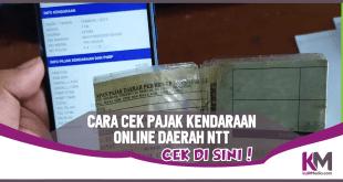 Cara Cek Pajak Kendaraan Online Nusa Tenggara Timur