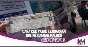 Cara Cek Pajak Kendaraan Online di E-Samsat Maluku