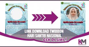 Kumpulan Link Download Twibbon Hari Santri Nasional