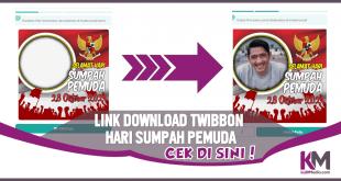 Kumpulan Link Download Twibbon Hari Sumpah Pemuda