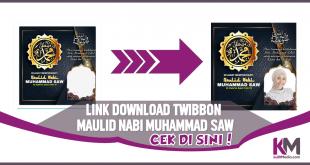 Link Download Twibbon Maulid Nabi Muhammad SAW